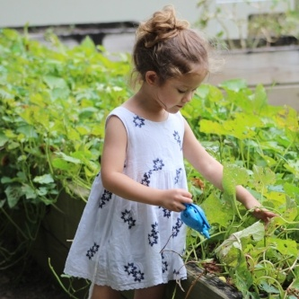 Growing seeds teaches children about science