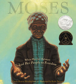 cover of moses harriet tubman