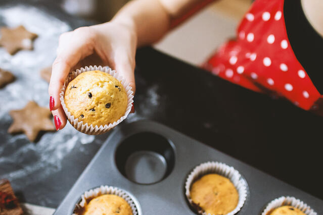 healthy baking for kids
