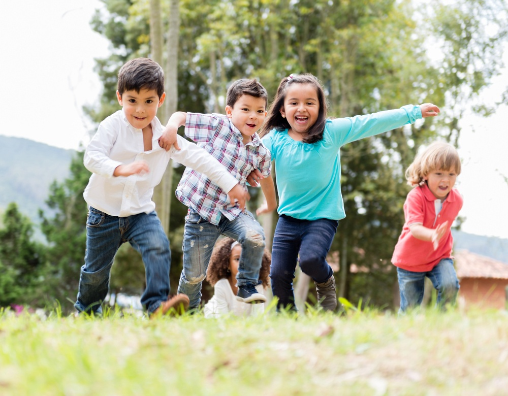 Treasure hunts can get children playing outside